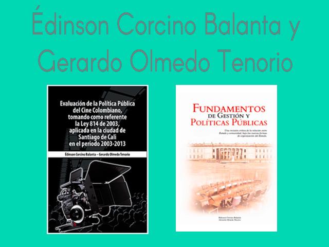Édinson Corcino Balanta y Gerardo Olmedo Tenorio