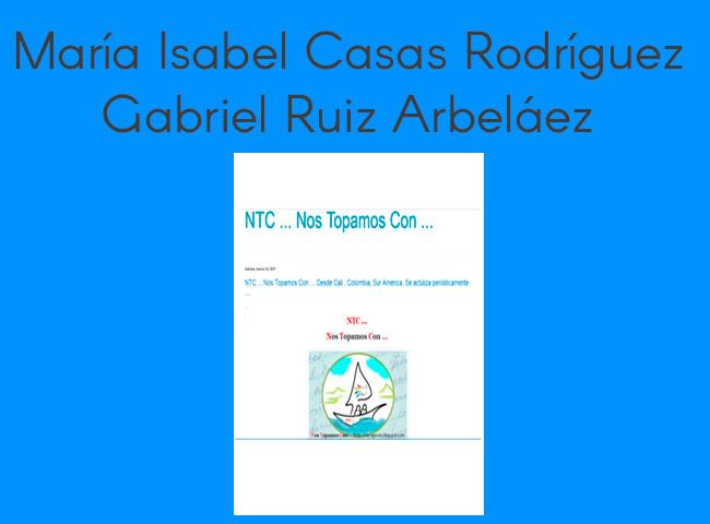 María Isabel Casas Rodríguez, Gabriel Ruiz Arbeláez